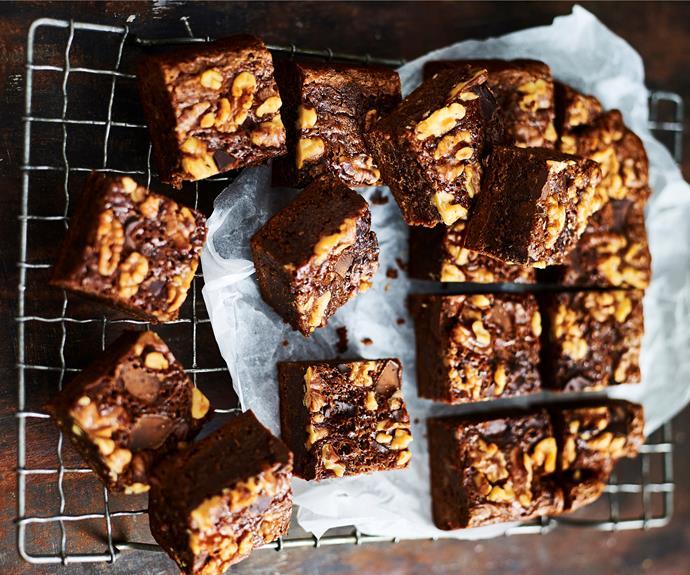 """**[Chocolate brownies](https://www.womensweeklyfood.com.au/recipes/slow-cooker-brownie-31845 target=""""_blank"""")** just got easier!"""