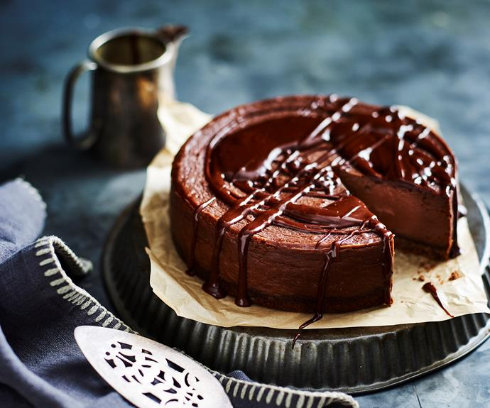 "**[Chocolate hazelnut cheesecake](https://www.womensweeklyfood.com.au/recipes/chocolate-hazelnut-cheesecake-31846|target=""_blank"")**  The ultimate set and forget."