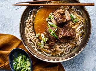 Miso beef short rib & pumpkin hotpot