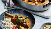 Lamb shanks massaman