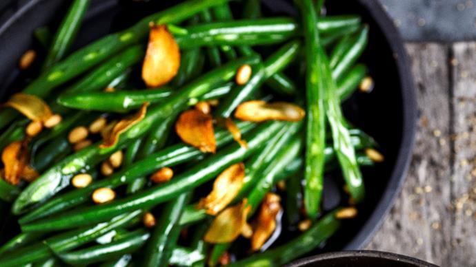 Garlic beans