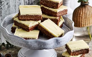Chocolate rough slice