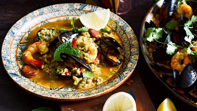Easy Spanish paella recipes
