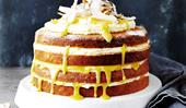 Coconut & lemon curd cake