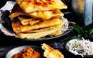 Roti canai flatbread
