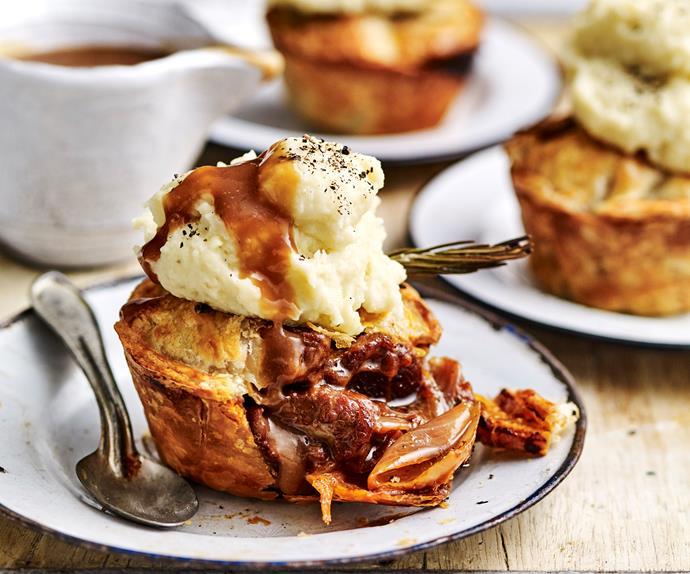 Lamb and rosemary pies