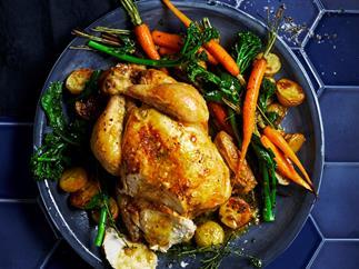 Classic roast chicken