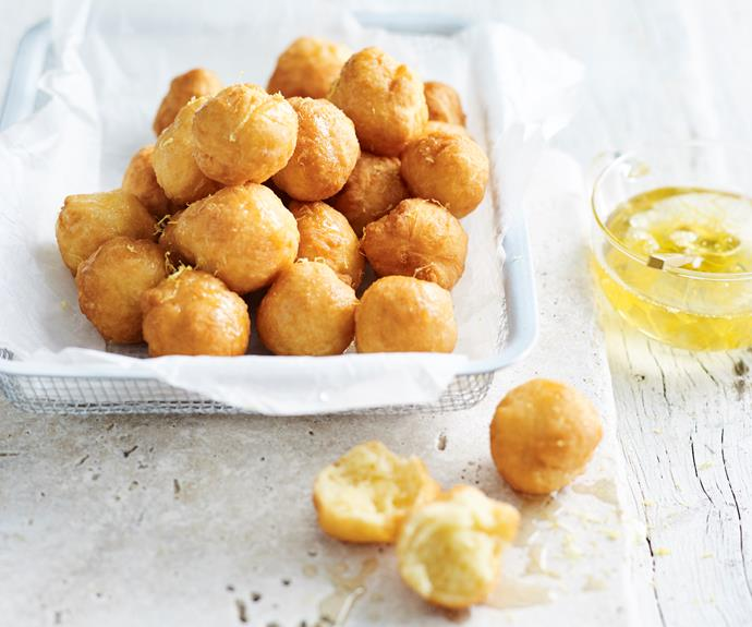 """**[Rose syrup soaked doughnuts](https://www.womensweeklyfood.com.au/recipes/rose-syrup-soaked-doughnuts-31993