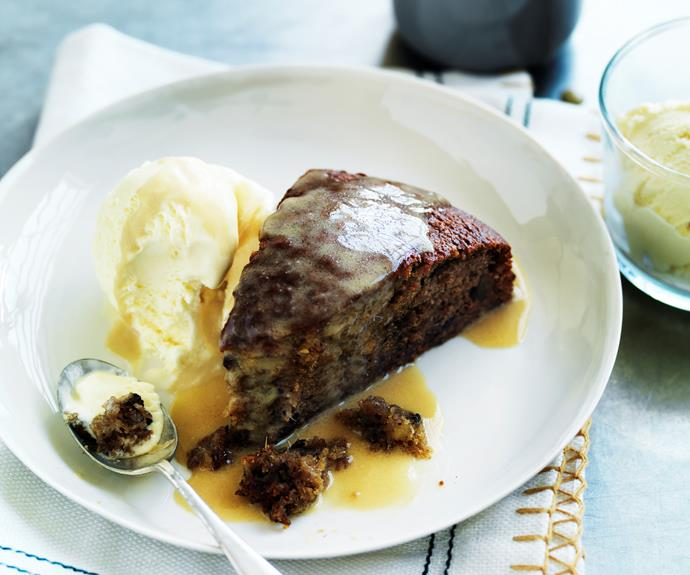 "**[Ginger sticky date pudding](https://www.womensweeklyfood.com.au/recipes/ginger-sticky-date-pudding-7382|target=""_blank"")**  Ginger brings a hint of spicy heat to a classic sticky date pudding."