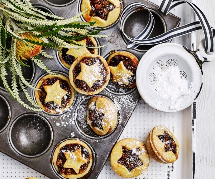 """**[Fruit mince pies](https://www.womensweeklyfood.com.au/recipes/fruit-mince-pies-10437