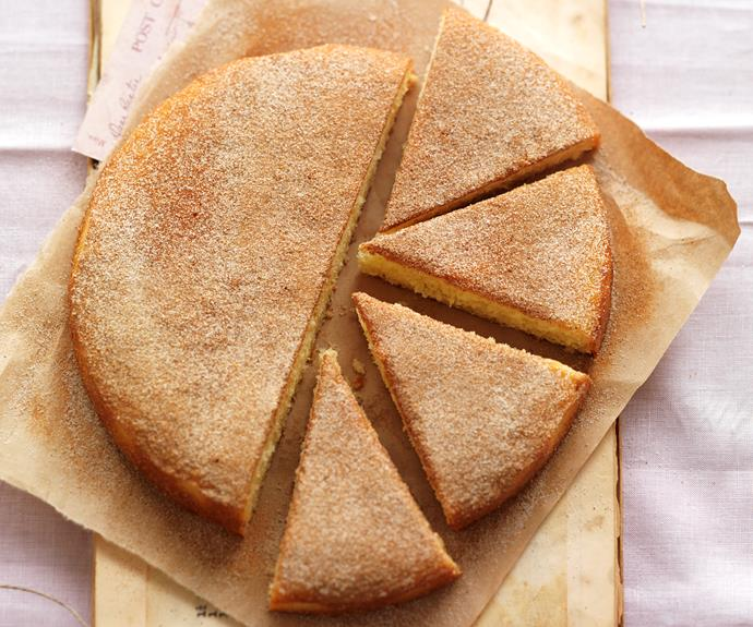 "**[Classic cinnamon teacake](https://www.womensweeklyfood.com.au/recipes/alexs-cinnamon-teacake-6437|target=""_blank"")**  The ideal afternoon tea treat."