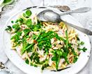 Chicken & watercress pasta salad