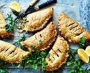 Broccoli, mustard and cheddar hand pies