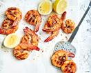 Perfect barbecue prawns