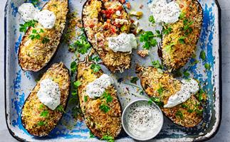 greek baked eggplant