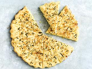 Lime and basil shortbread