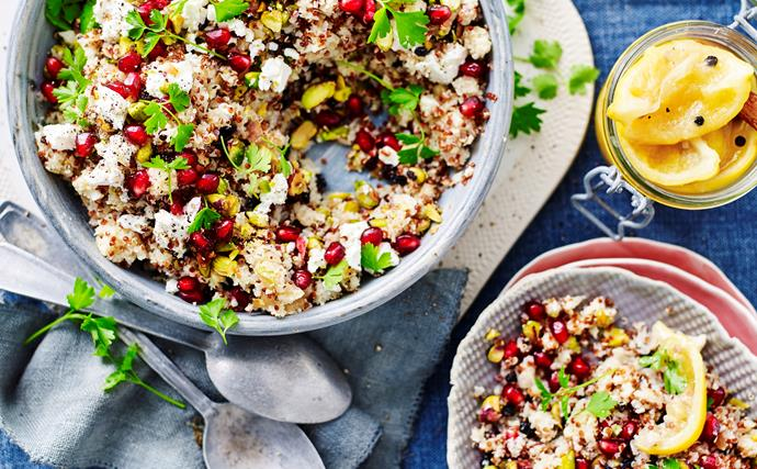 Quinoa and cauliflower 'couscous'