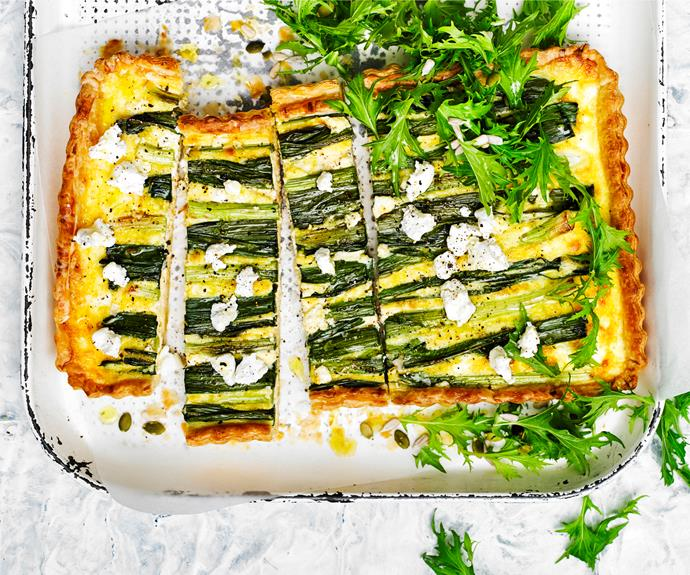 """**[Easy cheesy leek quiche](http://www.womensweeklyfood.com.au/recipes/easy-cheesy-leek-quiche-28776