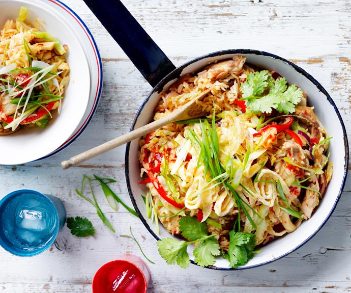 """This Asian inspired dinner is quick, simple and SO tasty! Full of delicious flavour and texture, this [chicken fried rice](https://www.womensweeklyfood.com.au/recipes/chicken-fried-rice-28876 target=""""_blank"""") is sure to become a family favourite in no time!"""