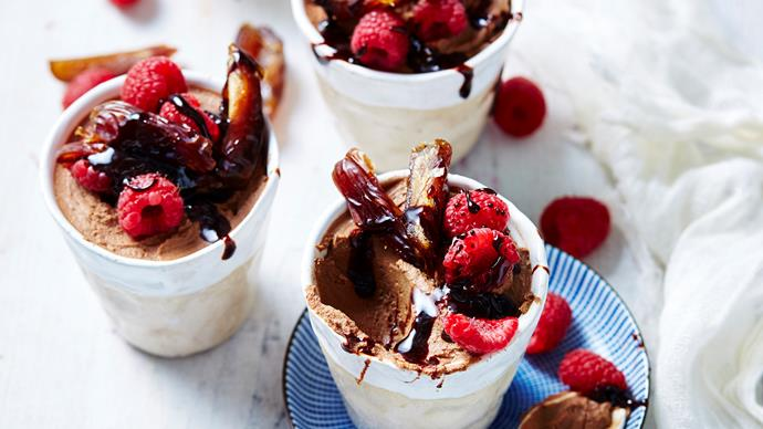DARK CHOCOLATE & RICOTTA MOUSSE