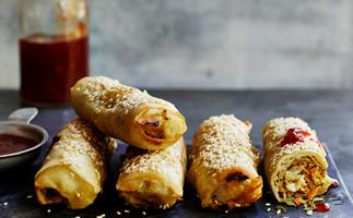 Make Chicko rolls in your sausage roll maker
