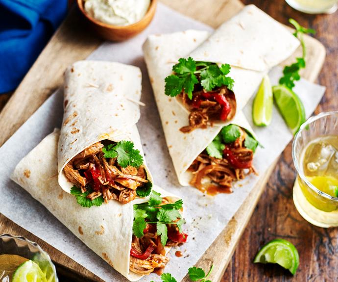 """**[Mexican pull-apart pork](https://www.womensweeklyfood.com.au/recipes/mexican-pull-apart-pork-3297