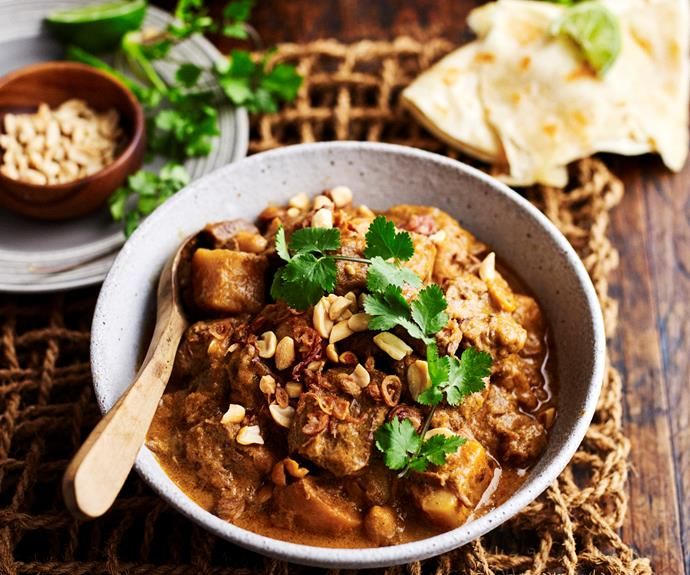 """**[Slow-cooker massaman beef curry](https://www.womensweeklyfood.com.au/recipes/slow-cooker-massaman-beef-curry-13870