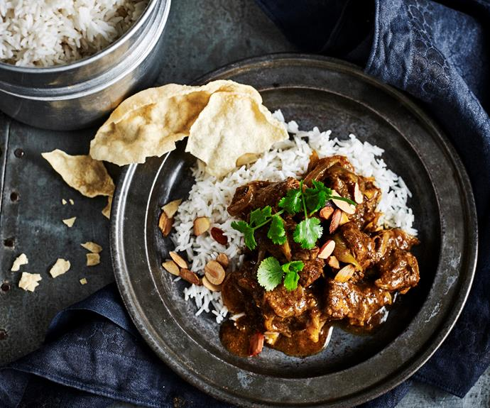 """**[Slow-cooker lamb madras](https://www.womensweeklyfood.com.au/recipes/lamb-madras-32469