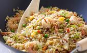 Easy combination fried rice