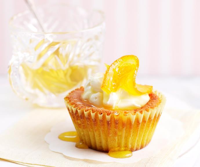 "**[Almond and orange syrup mini cakes](https://www.womensweeklyfood.com.au/recipes/almond-and-orange-syrup-mini-cakes-25961|target=""_blank"")**  The glorious combination of almond and sweet orange syrup make a delicious gluten-free treat."