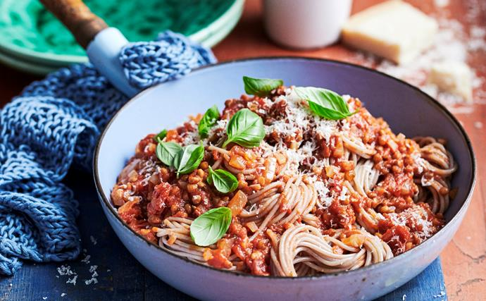 Pasta 'bolognese' your way