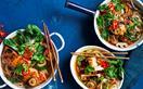 Miso noodle hotpot