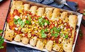 Enchilada bake
