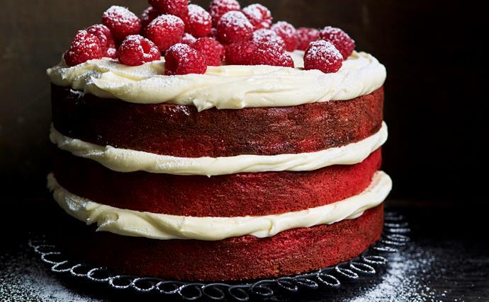 Gluten-free red velvet mud cake