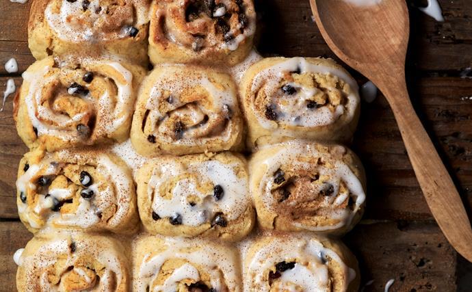 Gluten-free Chelsea buns