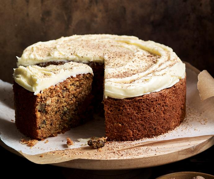 """**[Gluten-free carrot cake](https://www.womensweeklyfood.com.au/recipes/gluten-free-carrot-cake-6681 target=""""_blank"""")**   Cooking is full of classic pairings and carrot cake with cream cheese is one of the best. This moist cake is dense and delicious, and gluten-free too."""