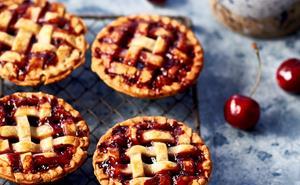Cherry lattice pies for your pie maker