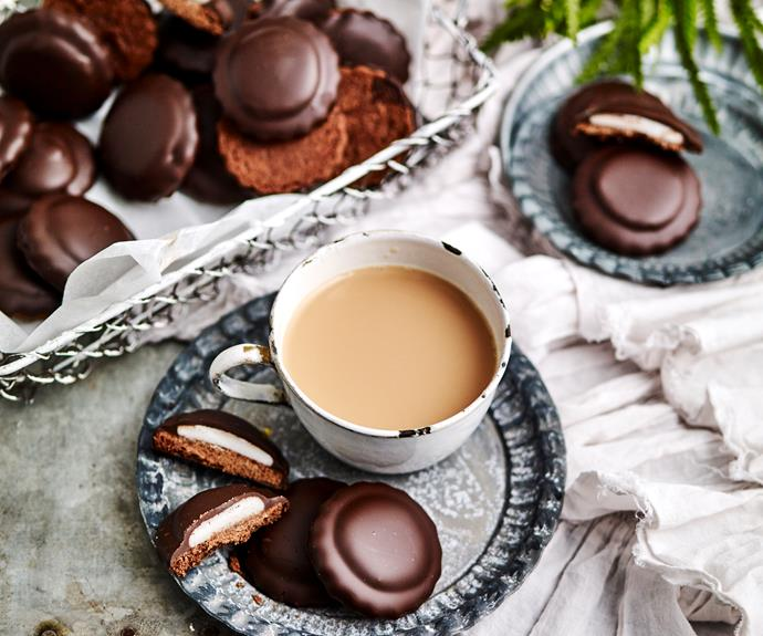"""[Chocolate mint slice biscuits](https://www.womensweeklyfood.com.au/recipes/mint-slice-biscuits-15407