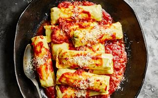 How to make cannelloni in your sausage roll maker