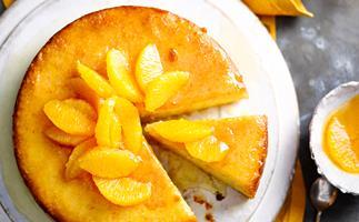 Gluten-free whole orange cake