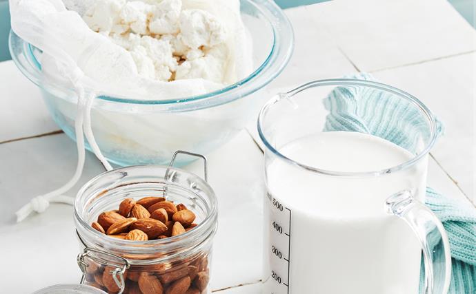 Thermomix dairy-free nut milks