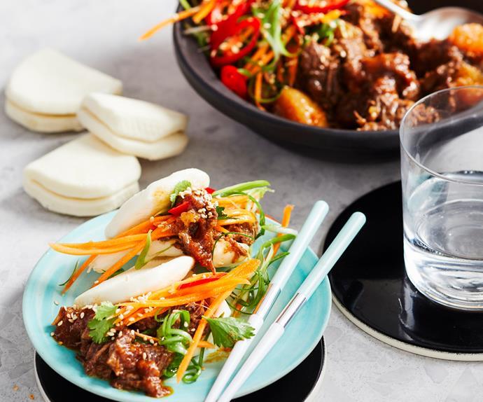Thermomix Korean short rib bao