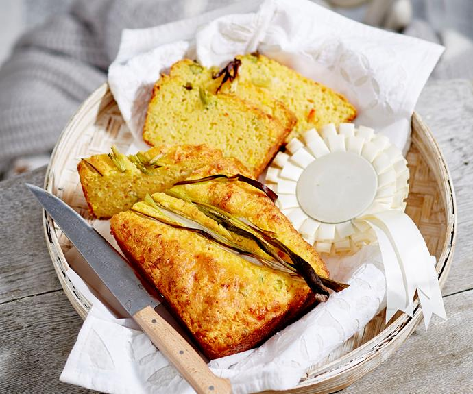 """**[Cheesy cornbread](https://www.womensweeklyfood.com.au/recipes/cornbread-23785