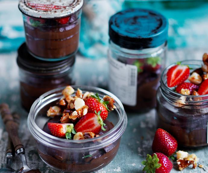 """**[Avocado banana chocolate mousse](https://www.womensweeklyfood.com.au/recipes/avocado-banana-chocolate-mousse-32744