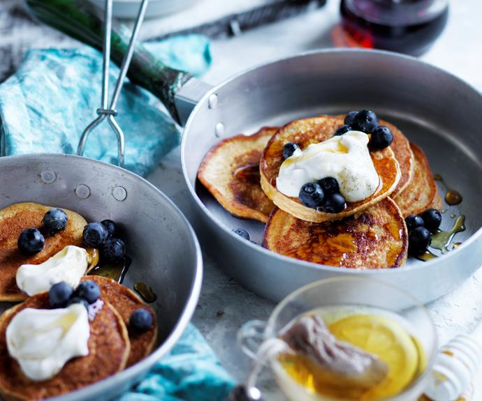 """**[Kumara pancakes](https://www.womensweeklyfood.com.au/recipes/kumara-pancakes-32745