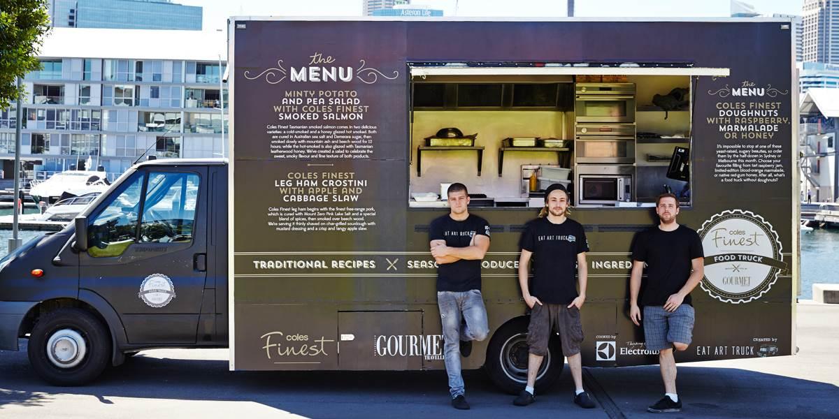 Gourmet Traveller Coles Finest Food Truck Bauer Media Group