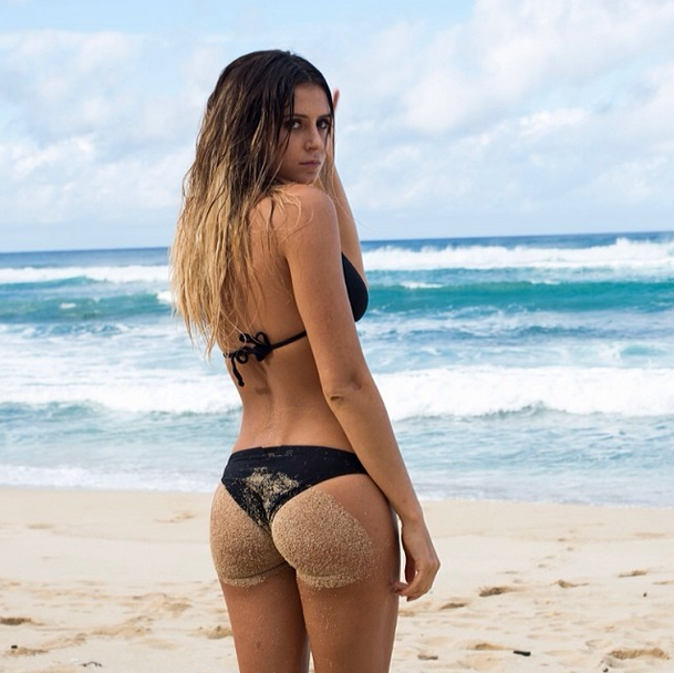 **Anastasia Ashley:** The California-born surfer rose to viral fame with her signature twerking warm-up routine. It's no surprise her Instagram is full of shots showing off her now famous derriere.