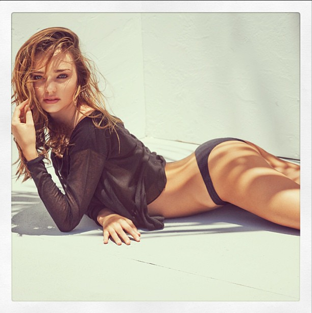 **Miranda Kerr:** The ex-Victoria's Secret model spends her time either at home in New Yorkor onvarious beaches and photo shoots around the world in, more often than not, next to nothing. Of course she's got a belfie.