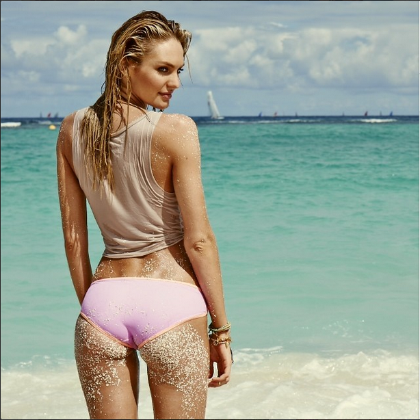 **Candice Swanepoel:** Another of the Victoria's Secret Angel squad, South-African Swanepoel loves a bikini shot. With one of the most desirable figures in the business, it's not exactly a chore having to scroll through her Insta-feed.