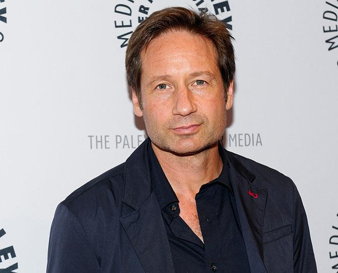 David Duchovny has undergraduate degrees from Princeton and Yale—both US ivy league universities. With long-running shows like *The X-Files* and *Californication* under his belt, he's also one of the most successful actors on TV. But he also repeatedly appeared in mid-90s soft-core porn series titled, *The Red Shoe Diaries*. A man of many talents.